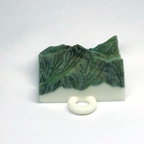 94.「石鎚山」 日本百名山コレクション 【国土地理院3Dデータ使用】3Dプリント 3x3cm