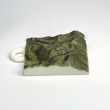 95.「九重山」 日本百名山コレクション 【国土地理院3Dデータ使用】3Dプリント 3x3cm
