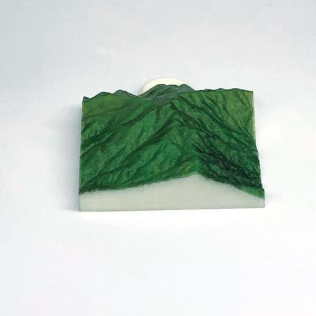 96.「祖母山」 日本百名山コレクション 【国土地理院3Dデータ使用】3Dプリント 3x3cm