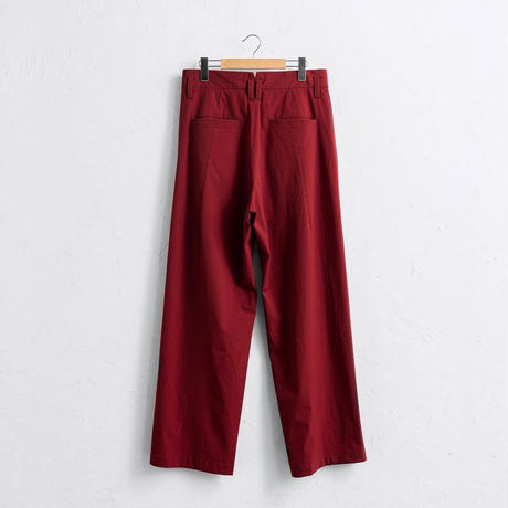 Tuck wide PT / RED (19AW)