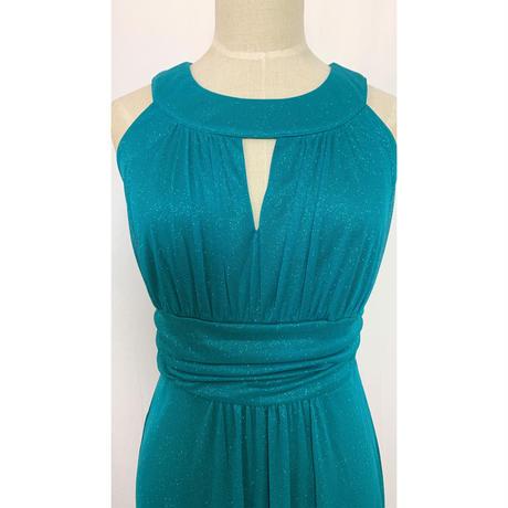 スレンダーラインロングドレス
