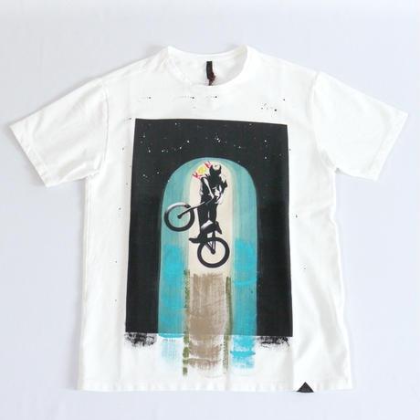 KOON 半袖ペイントTシャツ T-SHIRT BICI 120101384062