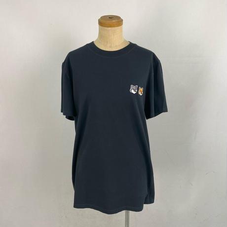 MAISON KITSUNE DOUBLE FOX PATCH Tシャツ