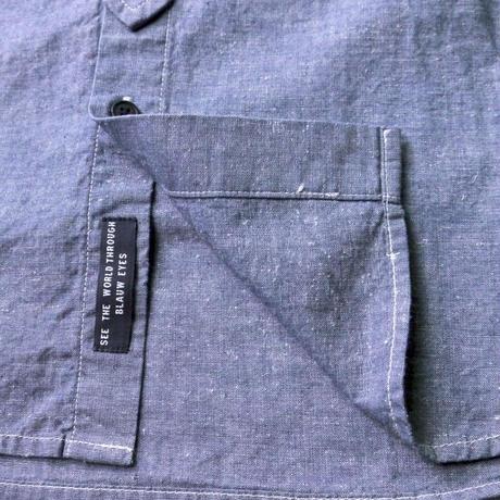SCOTCH&SODA デニムスタンドシャツ 282-41418