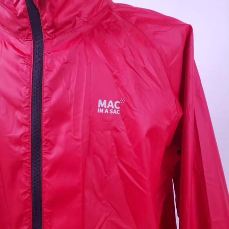 TRAGET DRY MAC IN A SAC  WATERPROOF PACKABLE JACKET