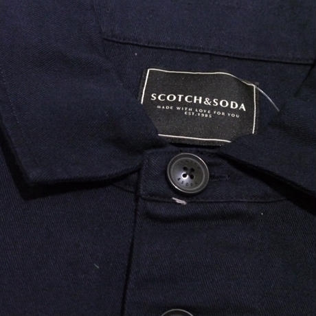SCOTCH&SODA 刺繍入り長袖シャツ 292-31420