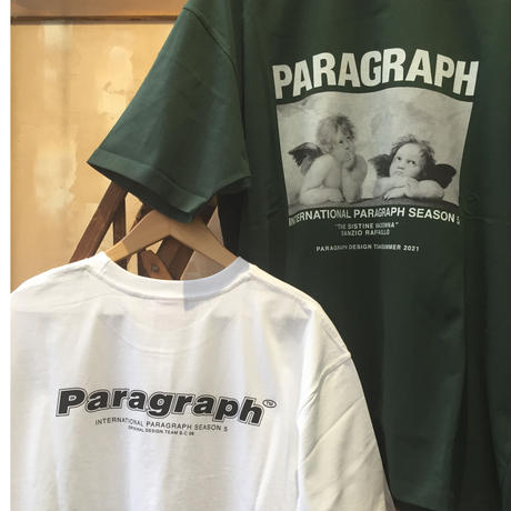 PARAGRAPH 半袖プリントTシャツ PG-70