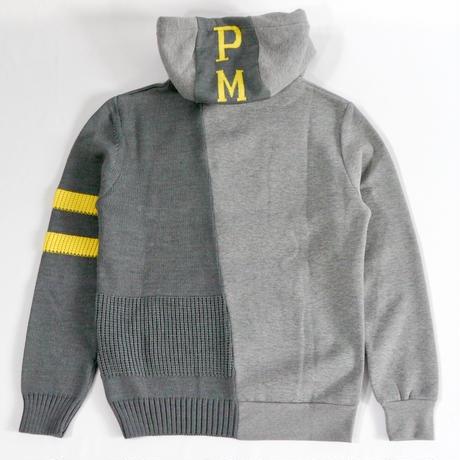 P.M.D.S. 異素材ミックスパーカー FEDOR/678MGT 120591504056