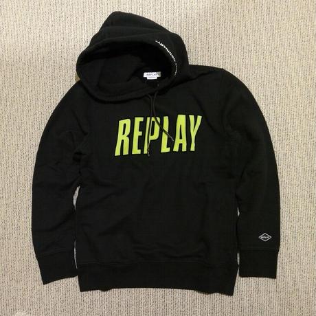 REPLAY フロッキーロゴ パーカー M3510.23040P