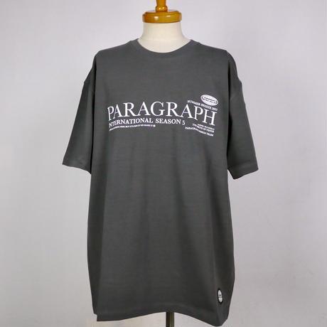 PARAGRAPH プリント半袖Tシャツ PG-71