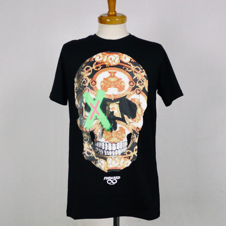 FORWARD MILANO スカルプリント半袖Tシャツ 051-2012278