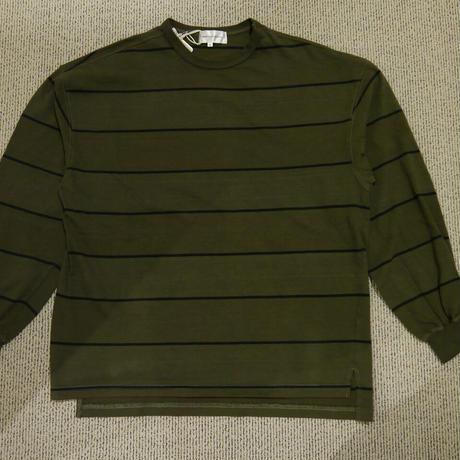 USW ピグメントボーダー 長袖Tシャツ 613510