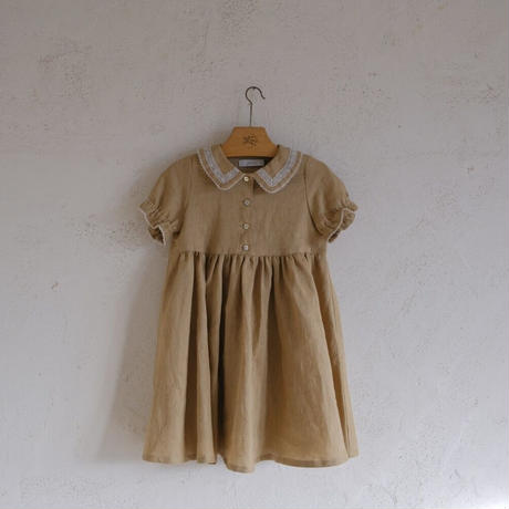Mary dress / caramel