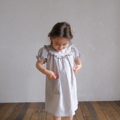 Charlotte dress / grey gingham