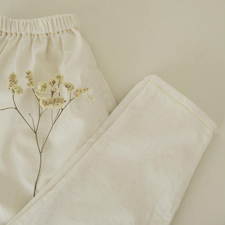 Sarouel pants  / white denim
