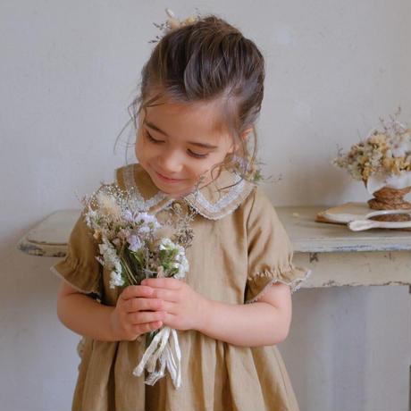 Mary dress / caramel