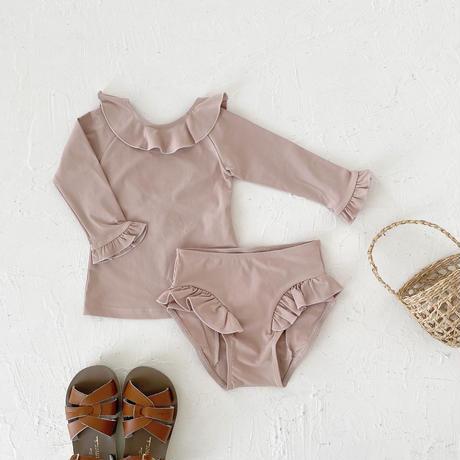 Swim wear - bottoms frill- / dusty pink