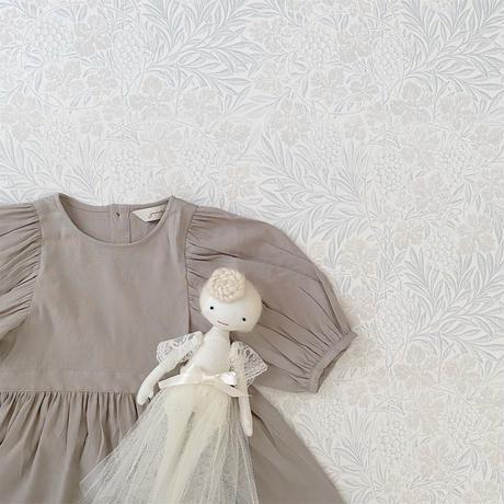 Cinnamon dress / ash grey <09-07>