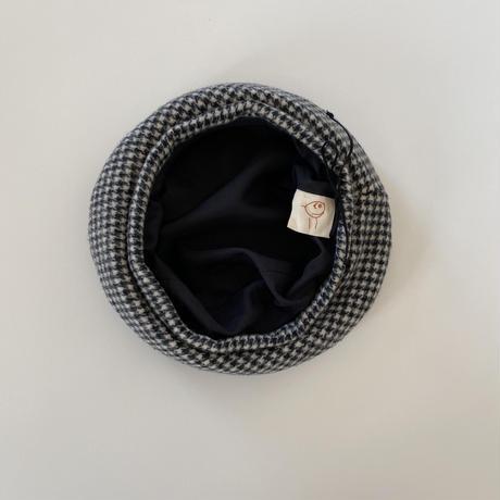 ×chipmunk&taddyhare Wool beret / chidori monotone