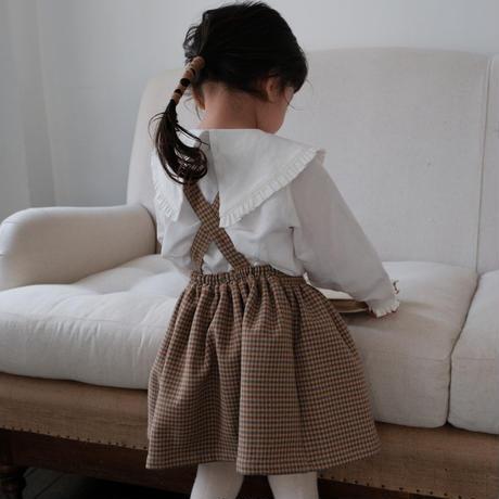 Suspender skirt / winter check
