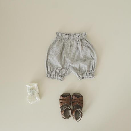 Pumpkin pants  / grey gingham