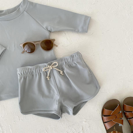Swim wear - bottoms pants- / cloud blue