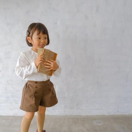 Lily blouse / milk <09-21>