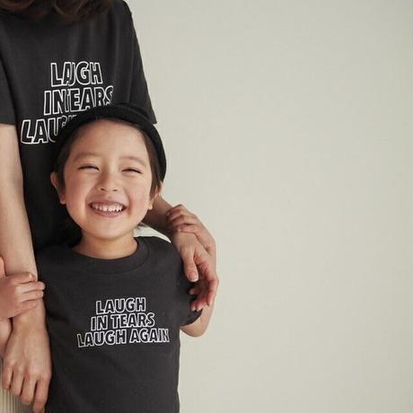 "【受注】kids "" little T "" / ash black"