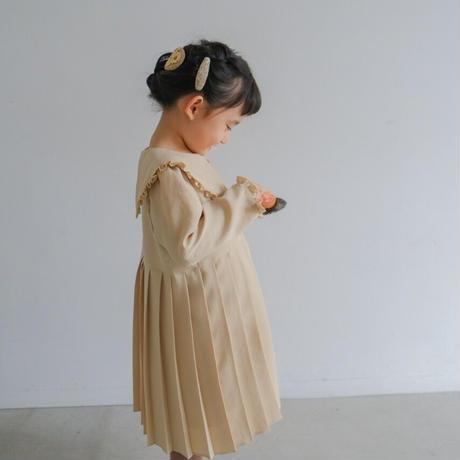 Lily dress / poire <09-01>