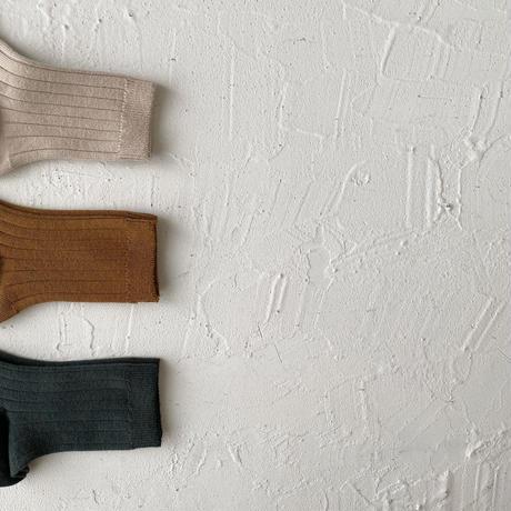 condor / Rib short socks ( size : 0-2 )