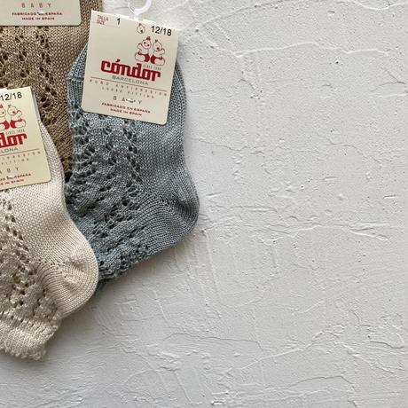 condor / Perle openwork short socks ( size : 1-2 )