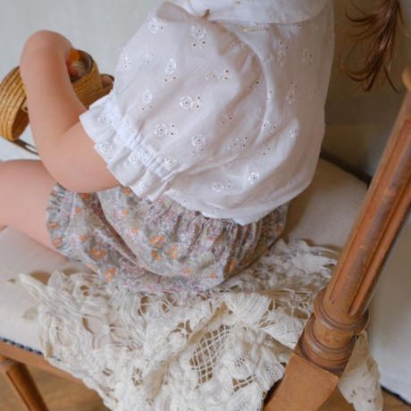 Coco blouse / white lace
