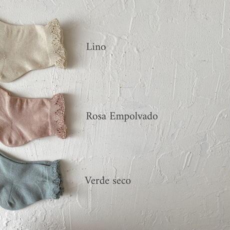 condor / Short socks with openwork cuff ( size : 0-2 )
