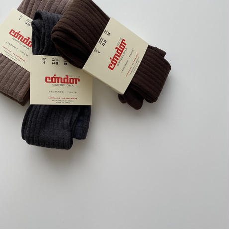 condor / Rib tights ( size : 4-6 )
