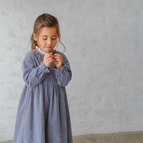 Tarte tatin dress / warm blue <09-05>