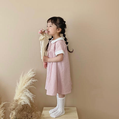Amelie dress  / chelish pink gingham