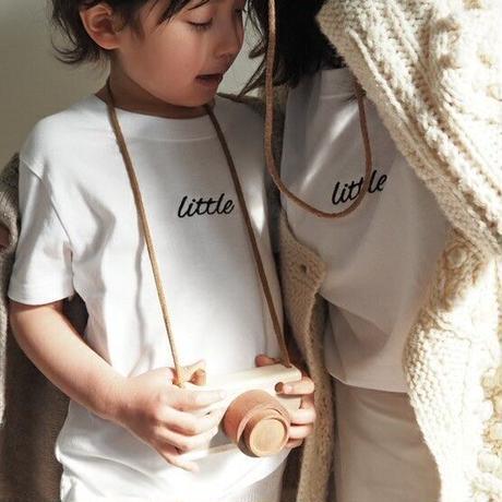 "【受注】kids "" little T "" / white"