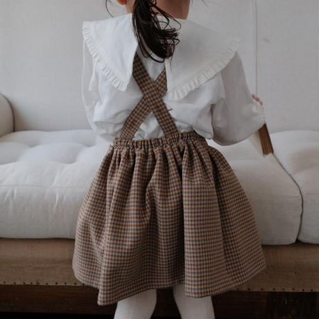 Suspender skirt / winter check