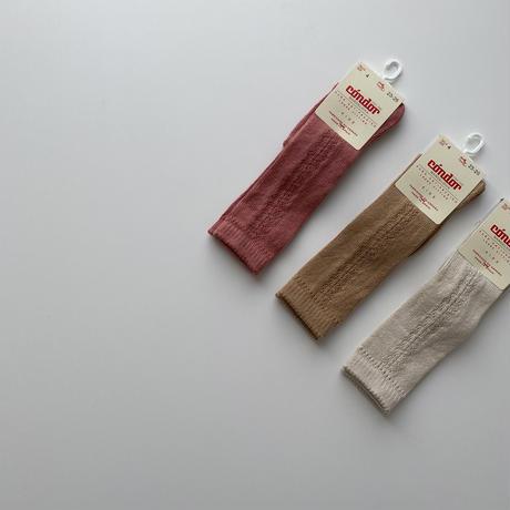 condor / Side openwork high socks ( size : 0-2 )