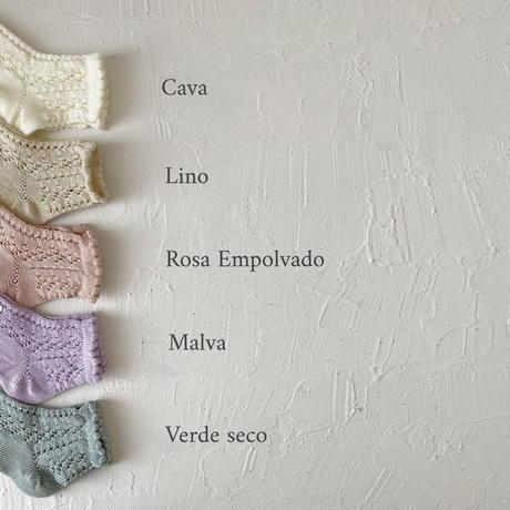 condor / Perle openwork Short socks  ( size : 0-2 )