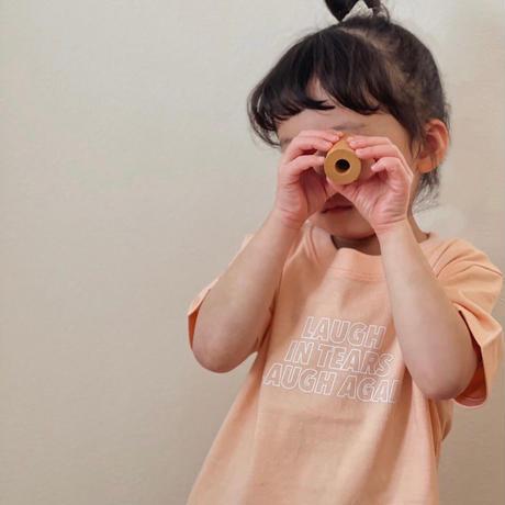 "【受注】kids "" little T "" / apricot"