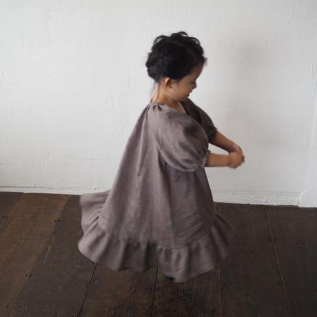 kids Summer dress  / cocoa