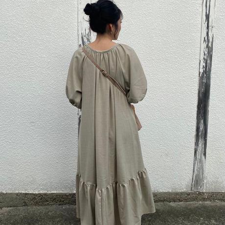 ladies Summer dress  / oatmeal
