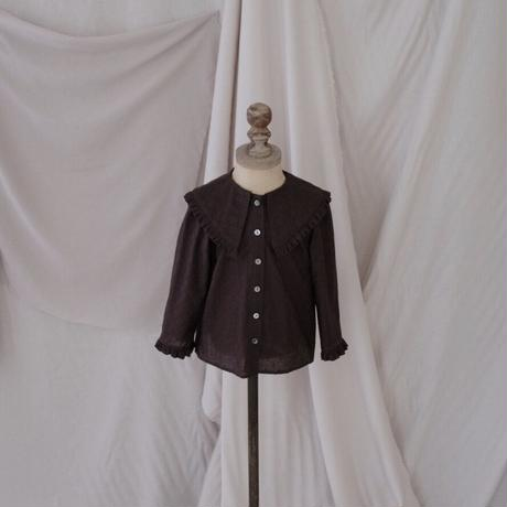 kids * Lily blouse /  chocolate