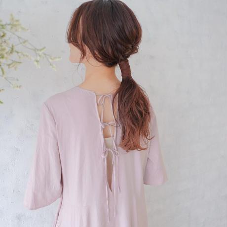ladies Flare dress / lavender <09-107>