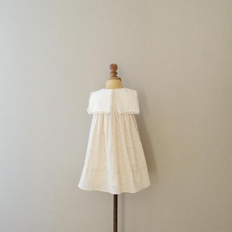 Sailor dress  / ecru mortimer