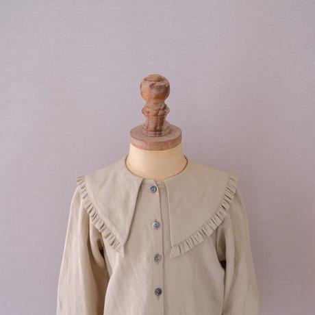 Lily blouse / pistachio <09-22>