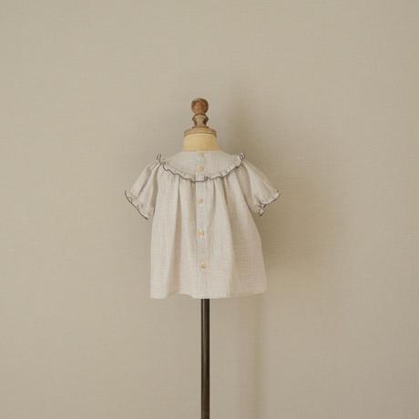 Charlotte blouse / grey gingham