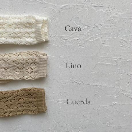 condor / Perle geometric openwork socks ( size : 4-8 )