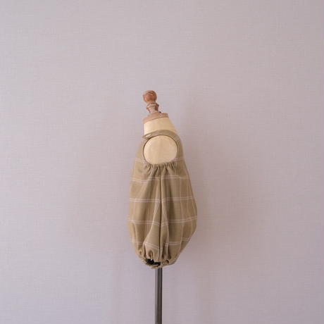 Balloon romper / olive <09-15>
